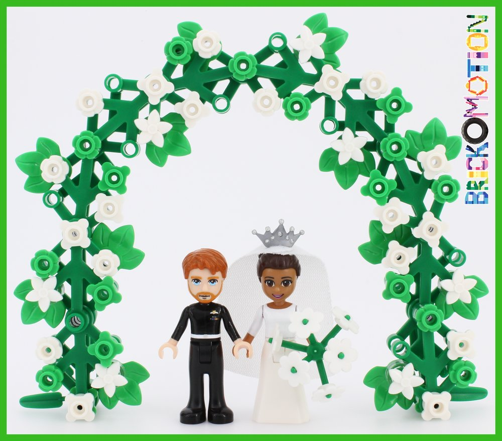 Royal Wedding with LEGO minidolls