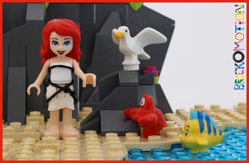 Ariel, Sebastian, Flounder & Scuttle