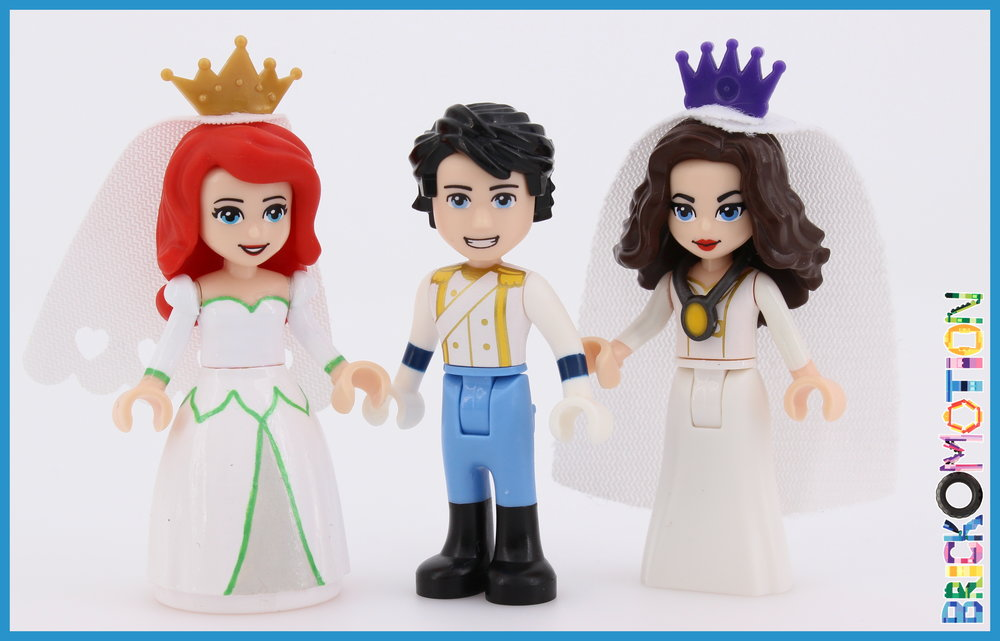 Wedding of Ariel, Eric and Ursula?