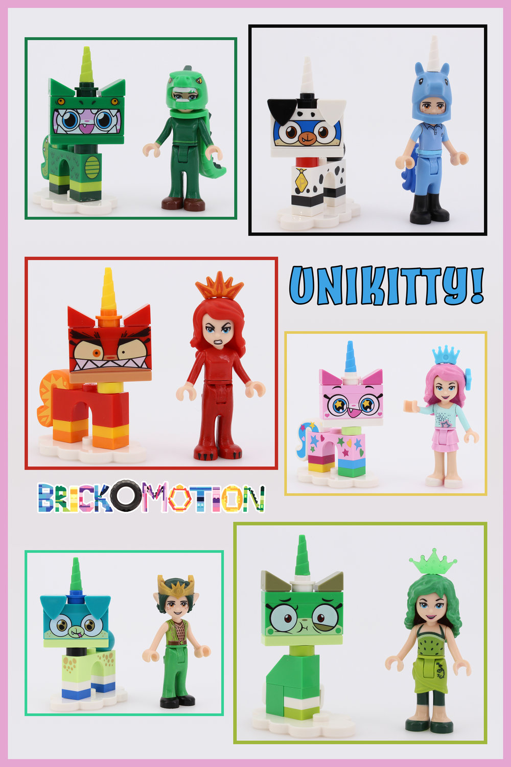Unikitty! Blind Bags Dollify 2