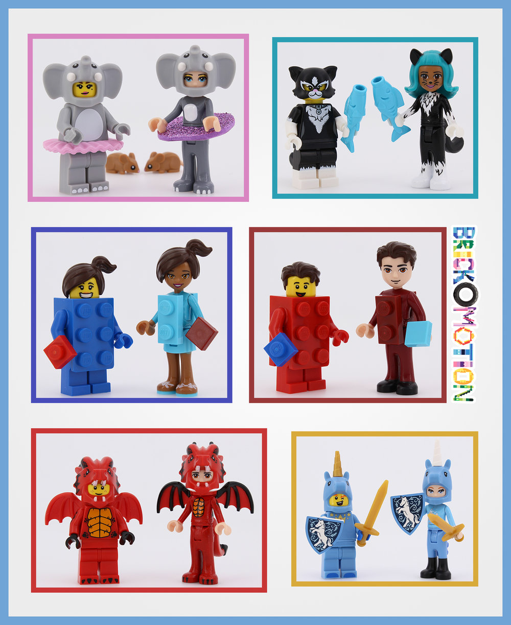 LEGO Series 18 blind bags dollify 2