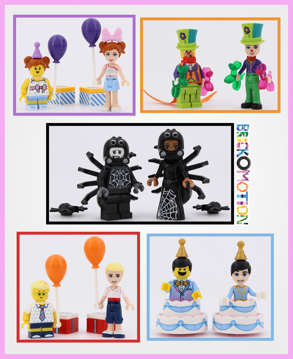 LEGO Series 18 blind bags dollify 1