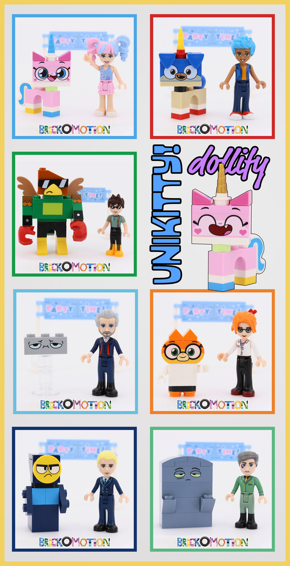 Unikitty! Characters Dollified