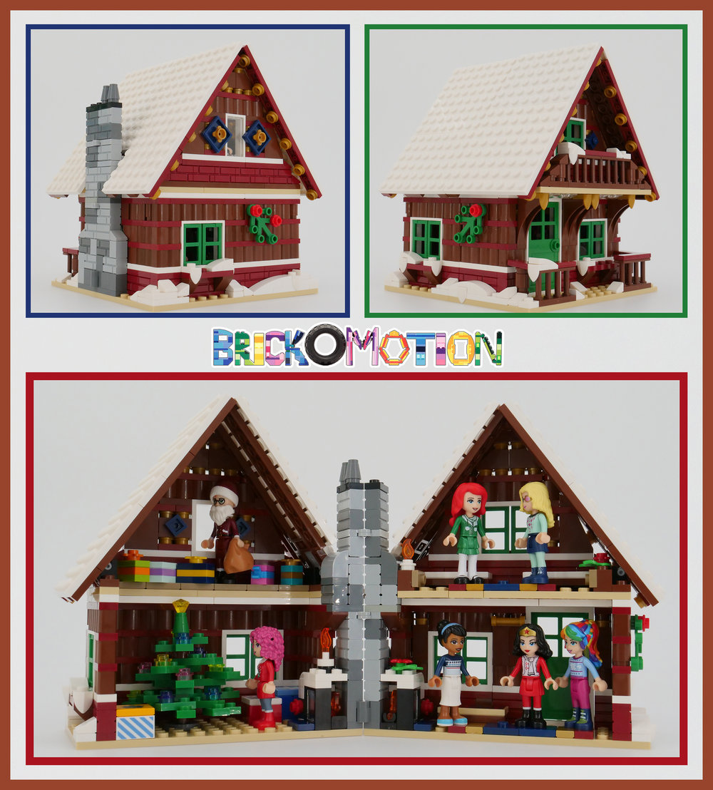Winter Minidoll Display Hut