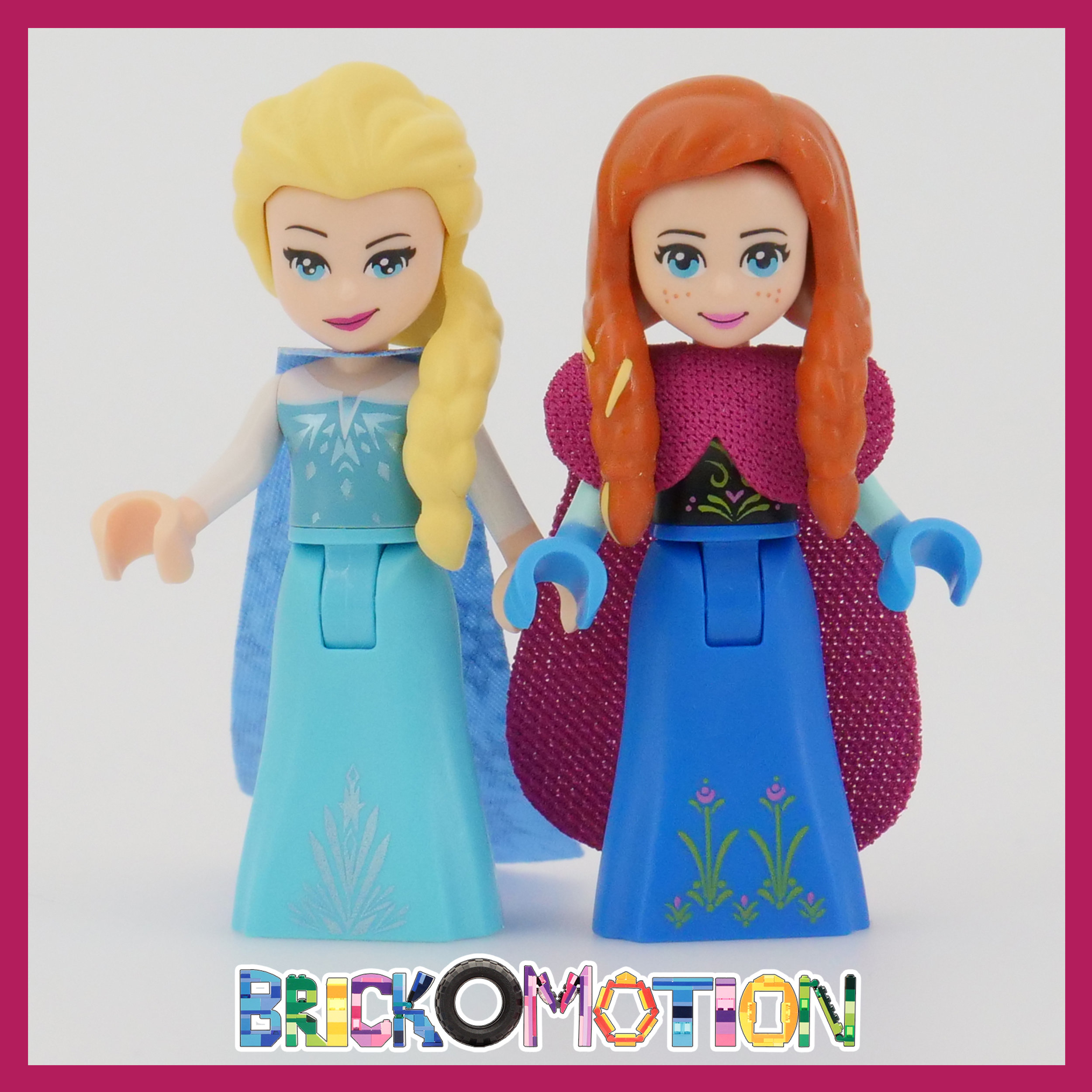 Elsa & Anna with Remolded Hair Pieces