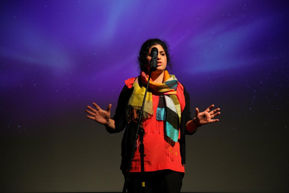 Zainab Zahra Syed, performance poet, educator and producer