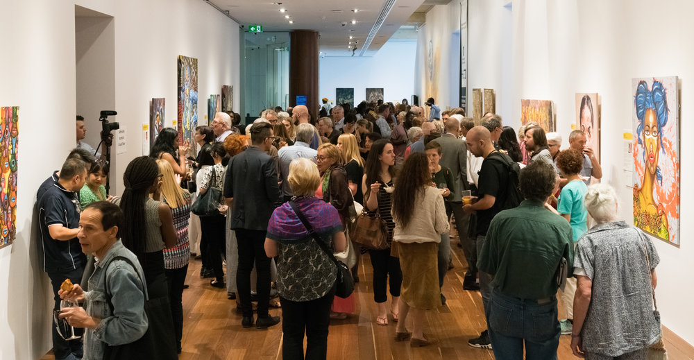 Exhibition Opening, Wednesday 7 March 2018