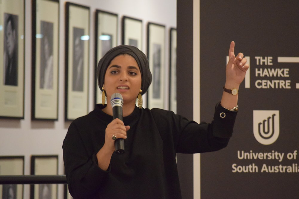 Zainab Zahra Zyed, what a beautiful person and poet she is.