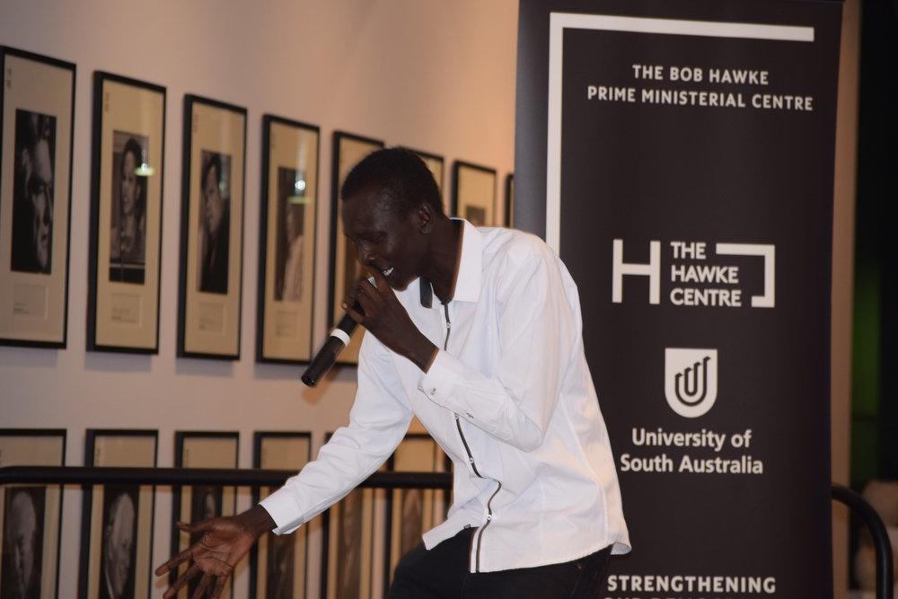 Gabriel Akon aka DyspOra gave it his all!