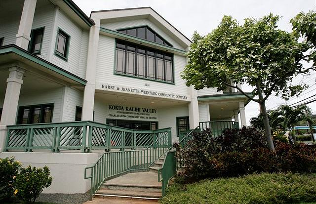 Kokua Kalihi Valley Comprehensive Family Services     Main Clinic and Wellness Center   2229 N School Street  Honolulu, HI 96819  Hours: Monday - Saturday  8am - 6pm  T (808) 791-9400