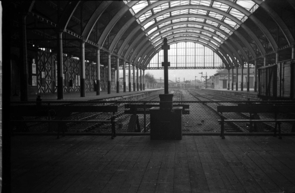 Bath Green Park, the station during active use c.1950 . Credit: Steve Portch