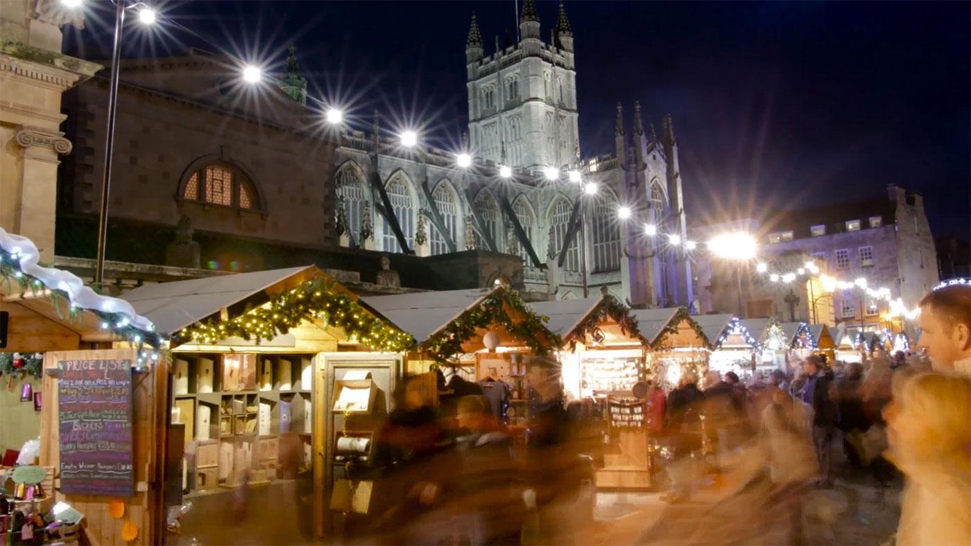 Bath Christmas Market 2018 Green Park Brasserie