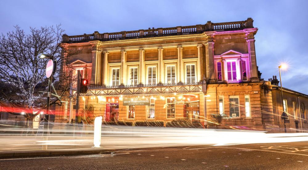 Green Park Brasserie, Bath. Set in the stunning former Victorian Railway Station booking hall.