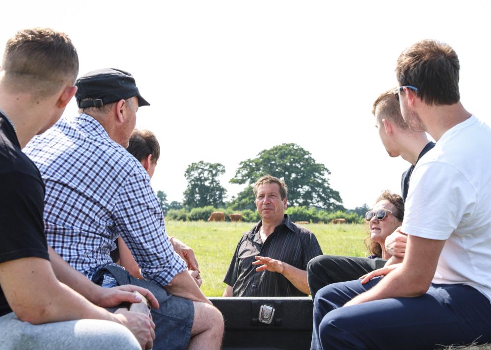 The Brasserie team at Newton Farm, Bath with Hugh & Celia