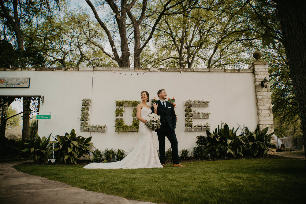 Humming Bird House really is one of our favorite wedding venues in Central Texas.