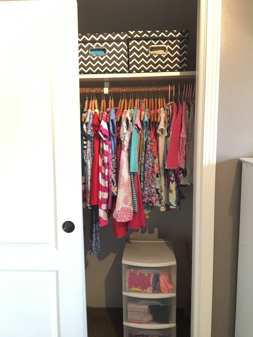 Closet: After!