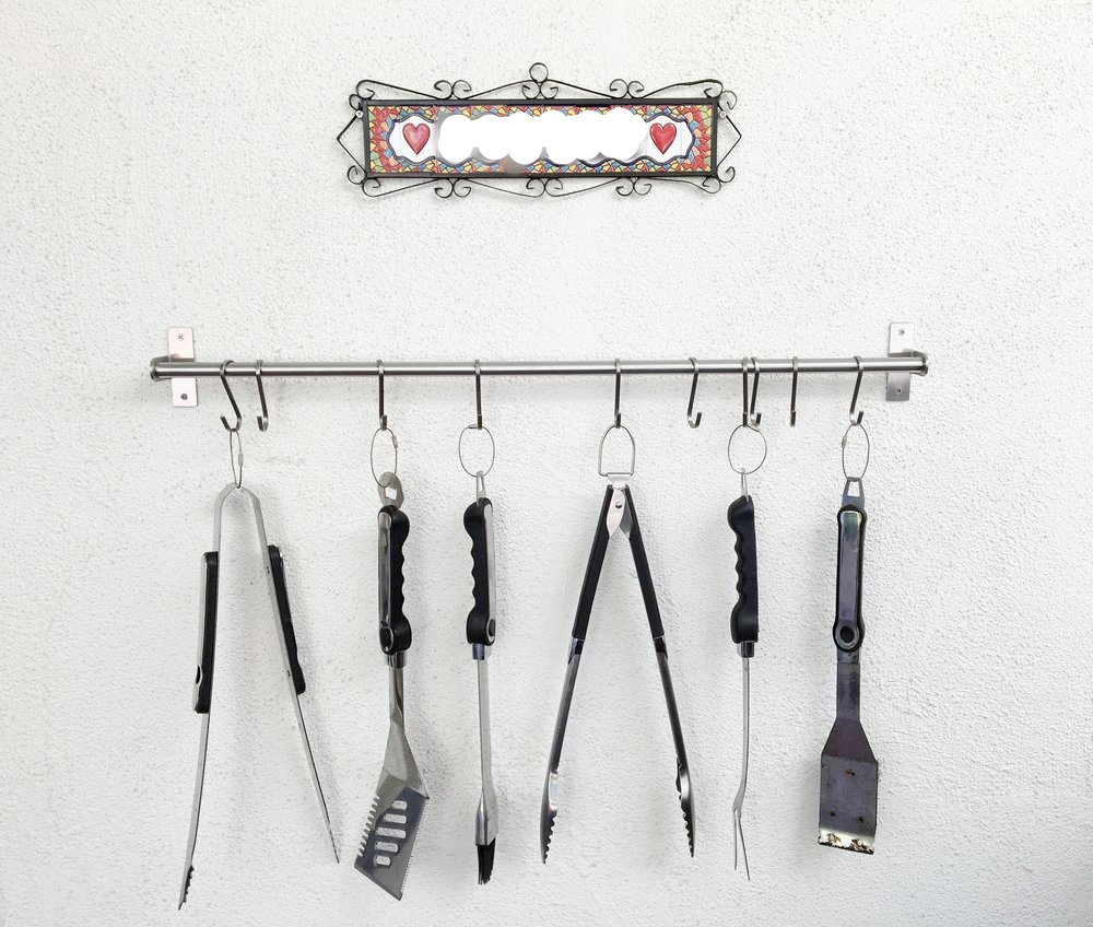 Tidy BBQ tools