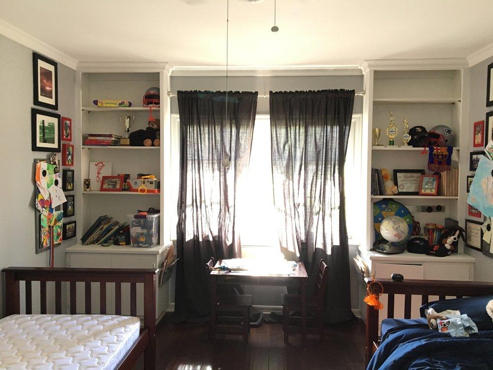 Boys bedroom, BEFORE