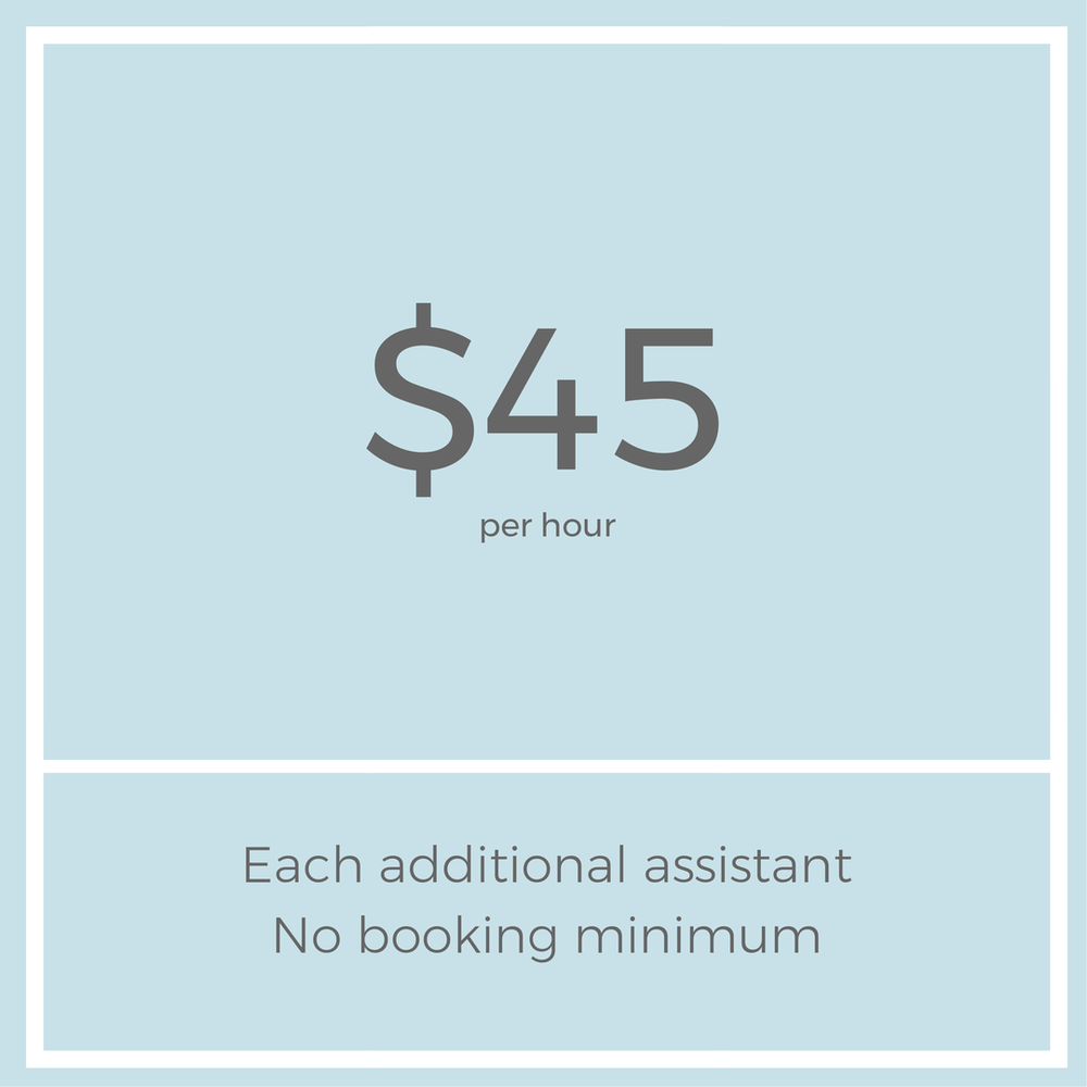 professional organizer Assistant Pricing.png