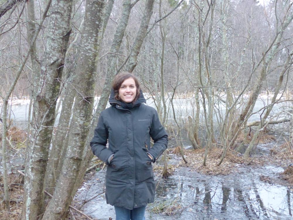 Mia Sklenar, Ecologist for Vaxholm municipality.