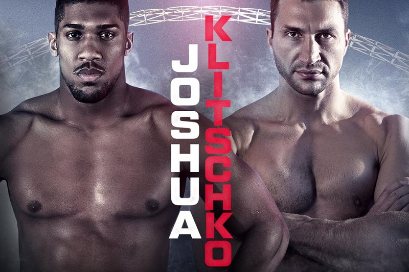 Joshua V Klitschko fight live at BRÚ House
