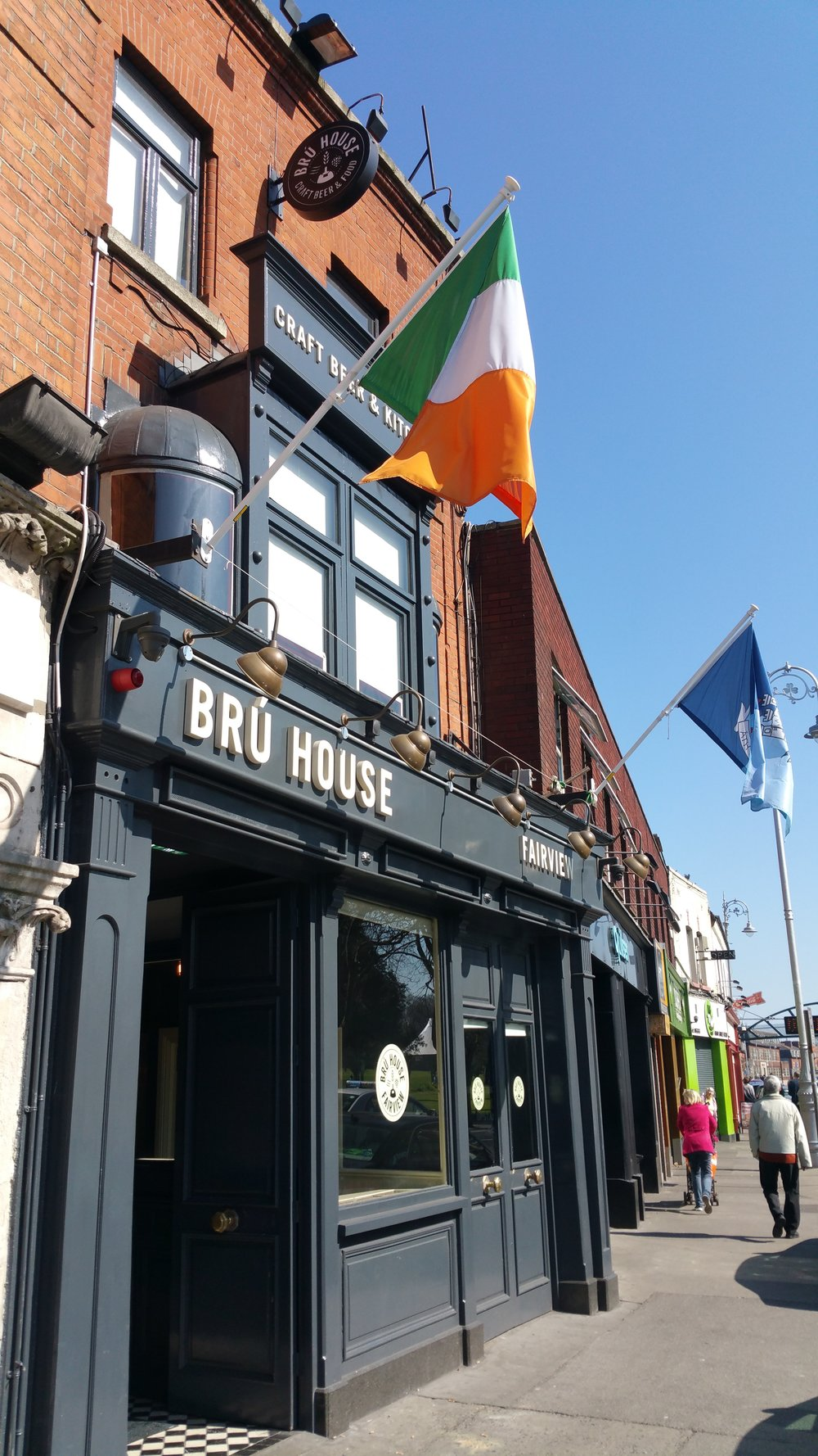 BRÚ House Irish pub at 12 Fairview, Dublin 3.