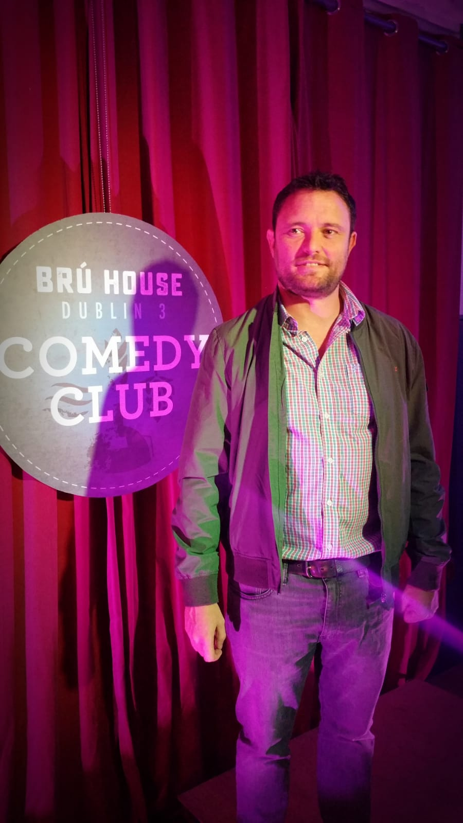 Kevin Doyle puts the housing crisis to bed. Comedy every month at BRÚ House Fairview.