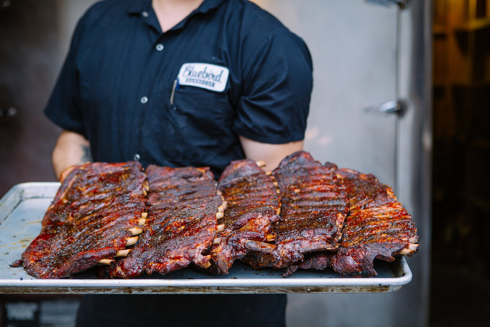 Copy of Bluebird BBQ | Spare Ribs, Party Order