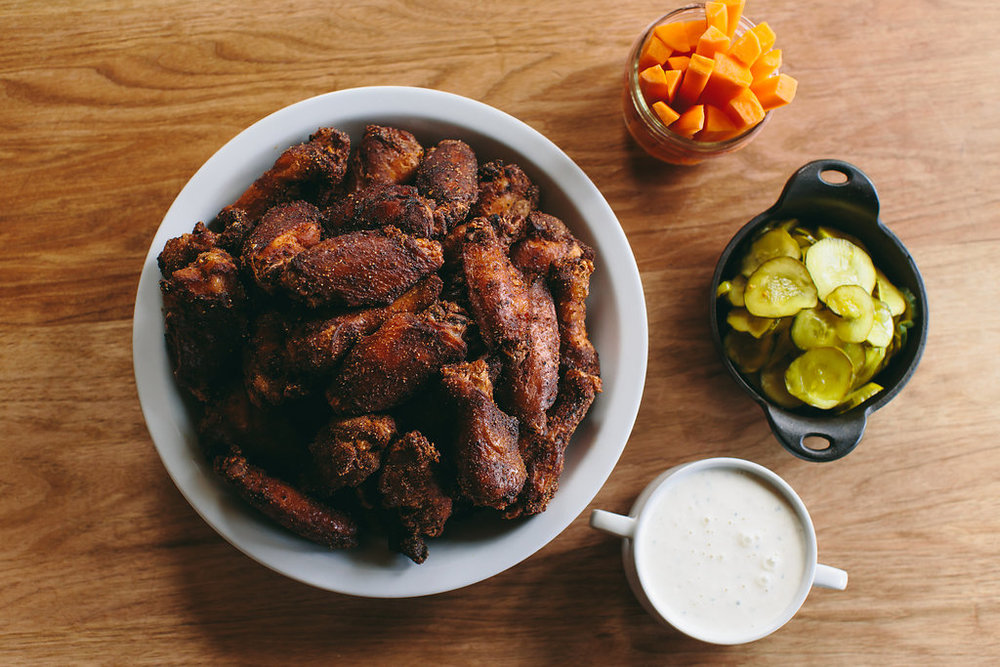 Copy of Bluebird BBQ | Smoked Wings