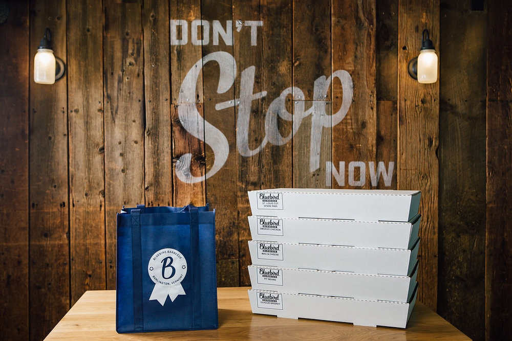 Copy of Bluebird BBQ | Party Order Packaging