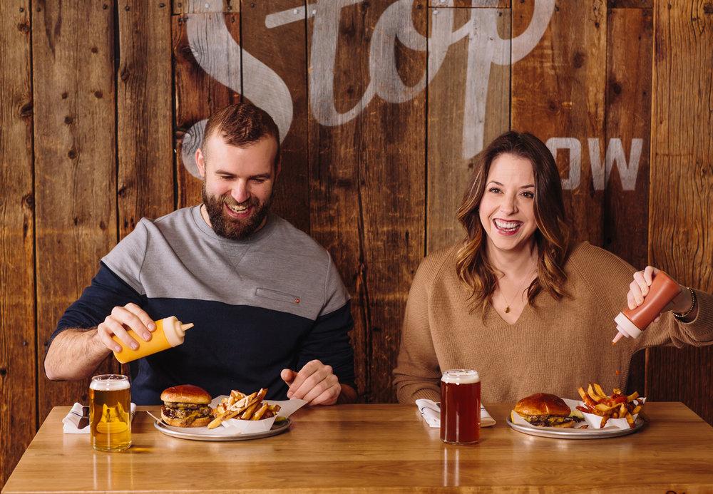 Bluebird BBQ | Double Burger
