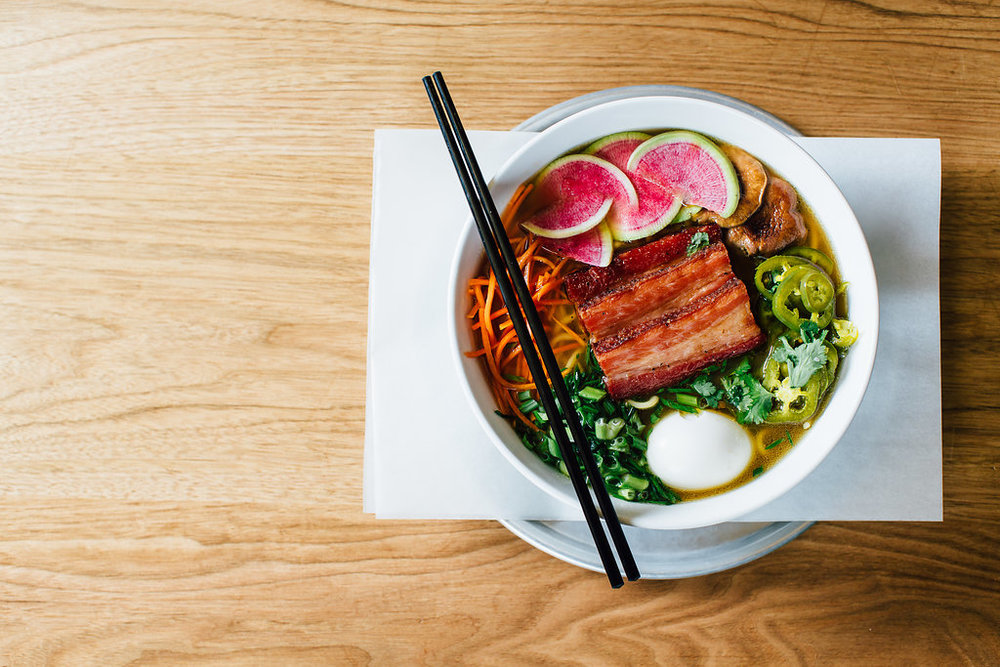 Bluebird BBQ | BBQ Ramen [Pork Belly]