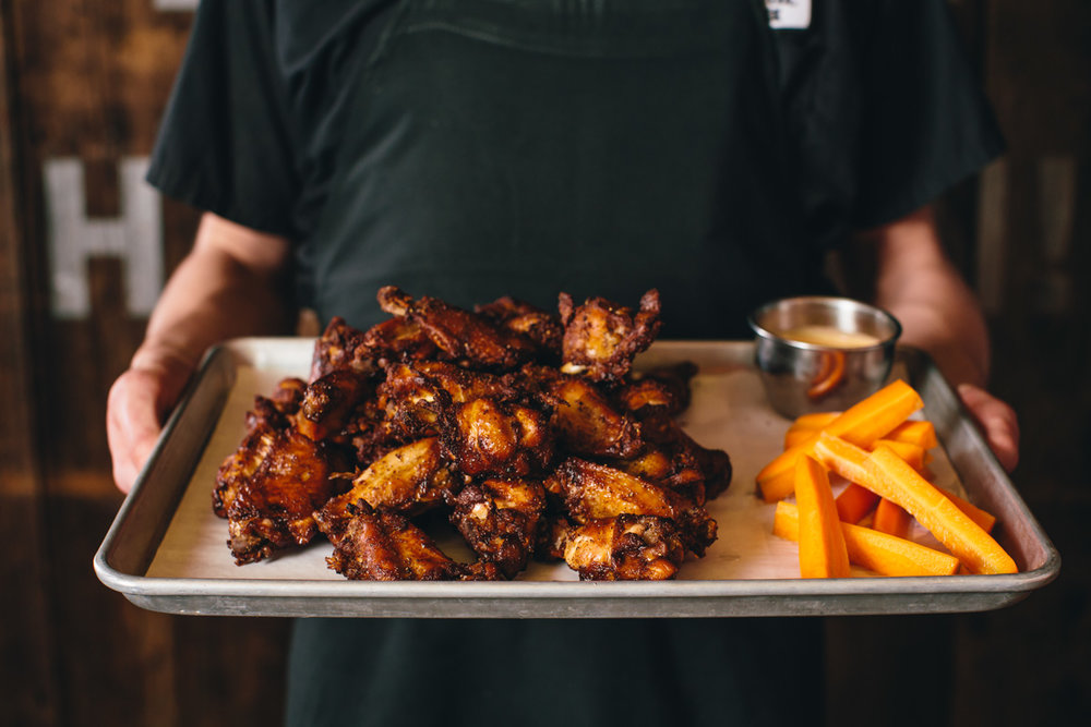 Bluebird BBQ | Smoked Wings