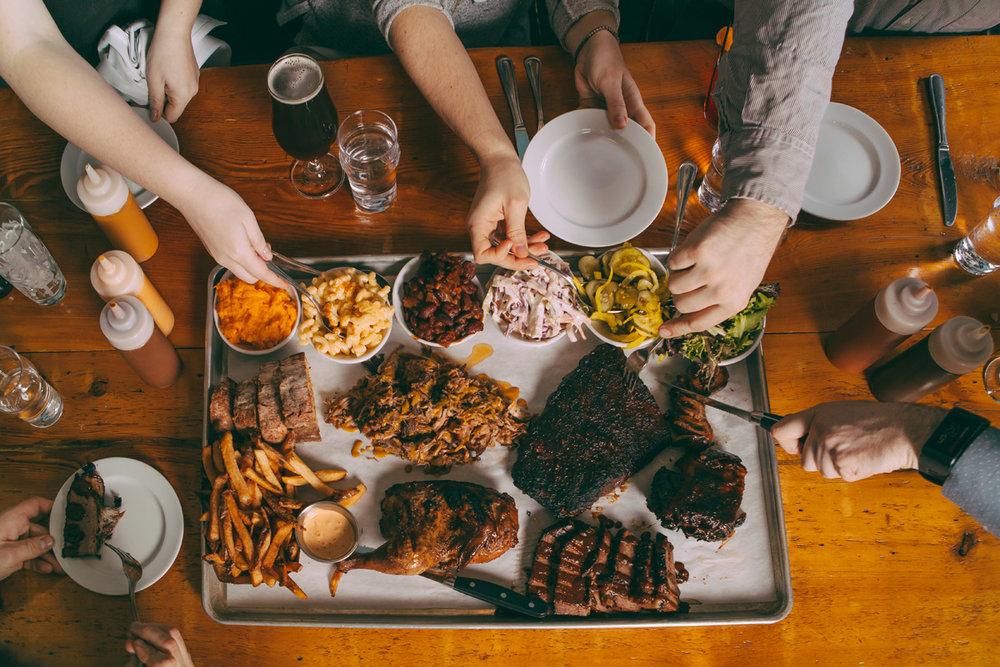 Bluebird BBQ | Family Reunion Tray