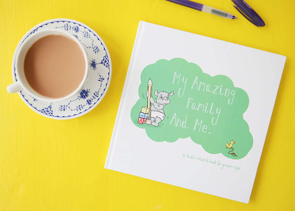 My Amazing Family and Me Record Book. For adoptive parents and same-sex parents. https://www.etsy.com/uk/listing/233312752/baby-and-childrens-record-book?ref=shop_home_feat_1