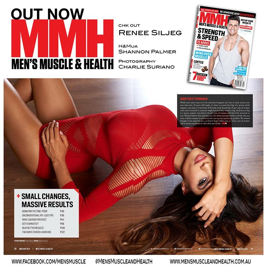 Muscle & Health Magazine - Feature/ Interview with Australian MMH mag.
