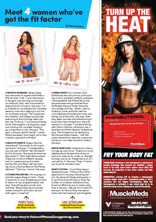 Oxygen Magazine - USA. Future of Fitness