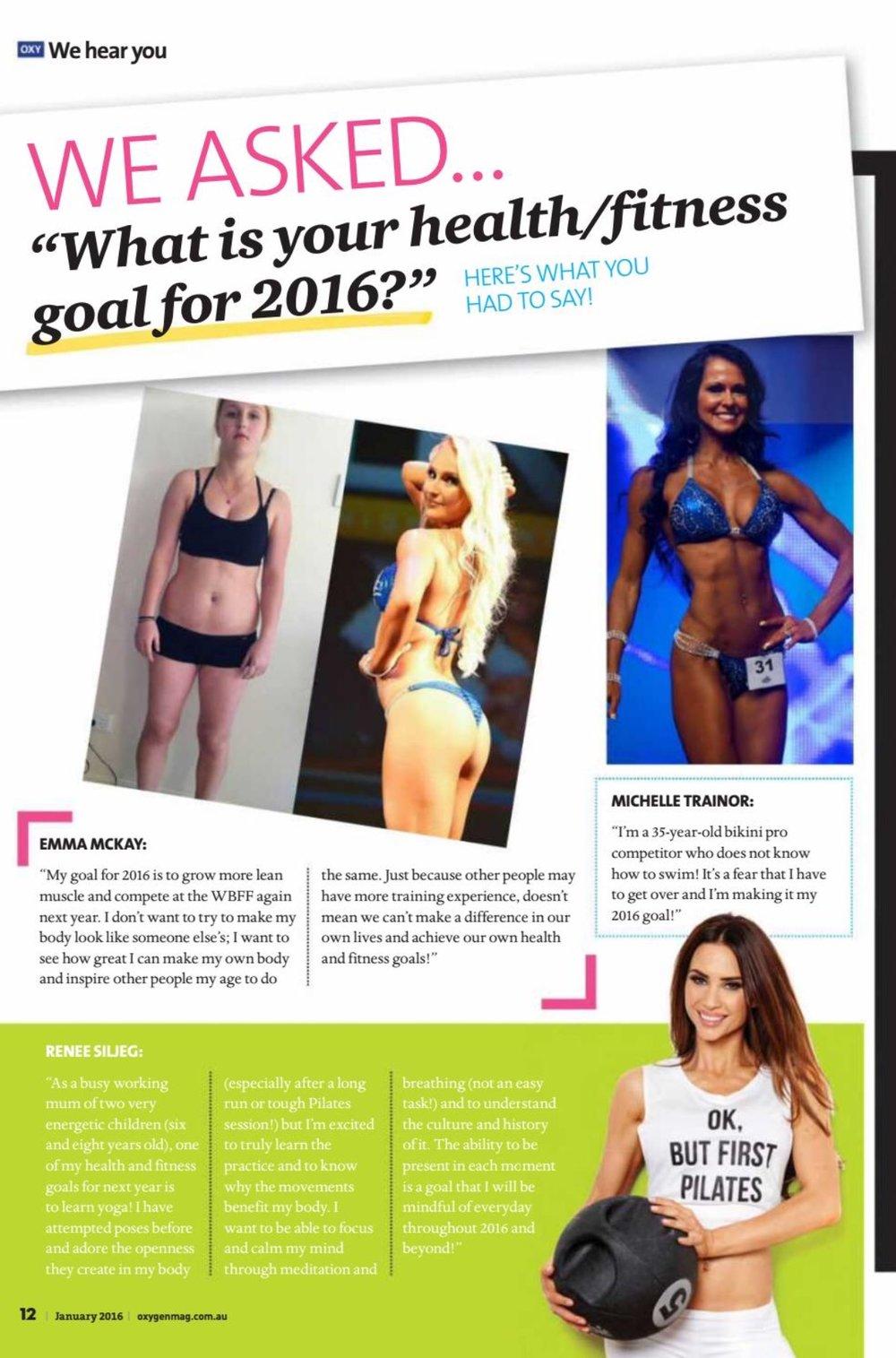 Oxygen Magazine - Australia.