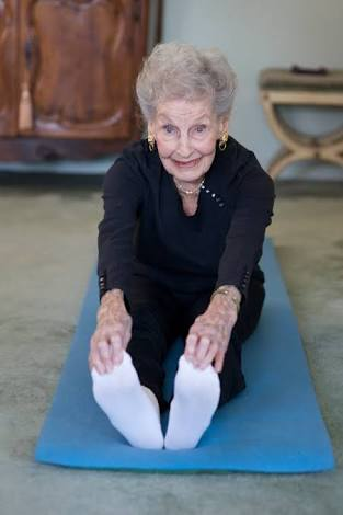 - Ruth Kobin, who was featured in Pilates Style magazine, practices Pilates once a week.. and is 101 years old.Need I say more?