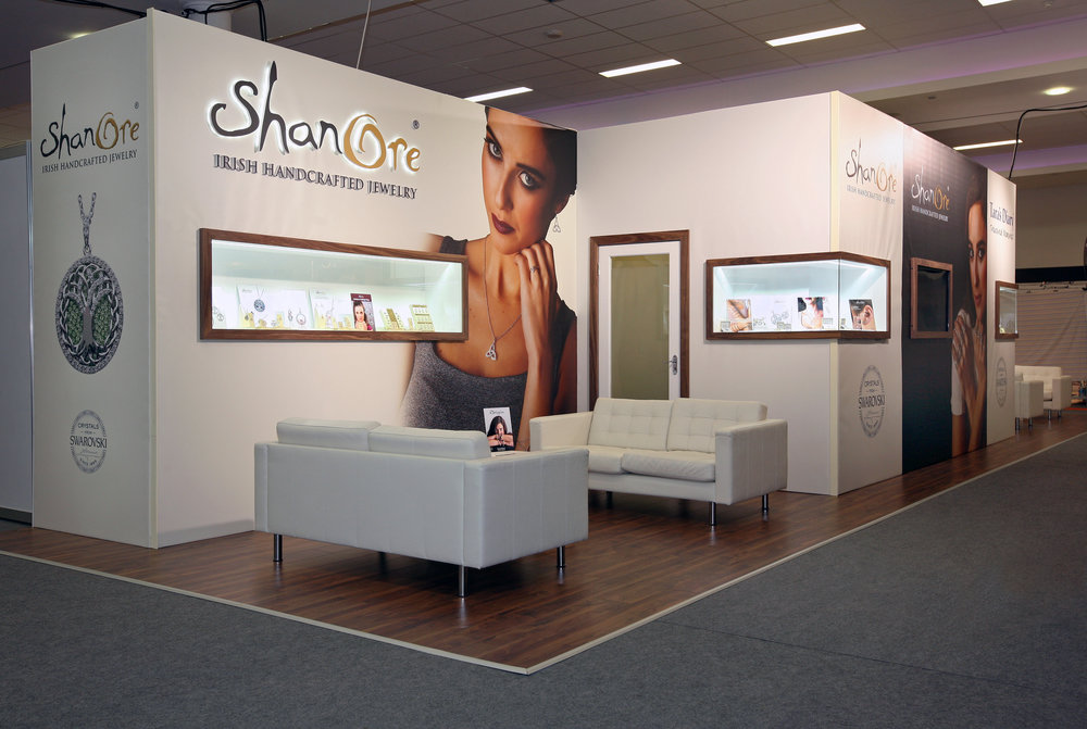 Jewelry Exhibition Stand Design : W display our services