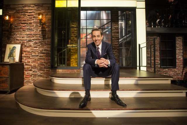 TV Set Design Ryan Tubridy The Late Late Show