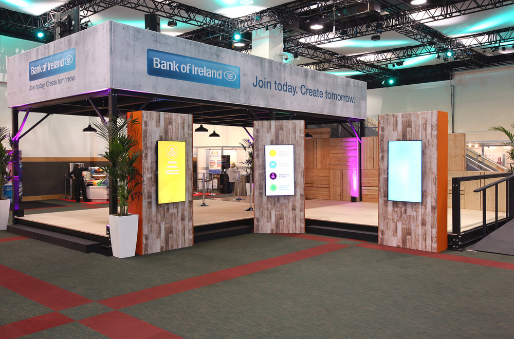 Exhibition Stands and Feature Areas