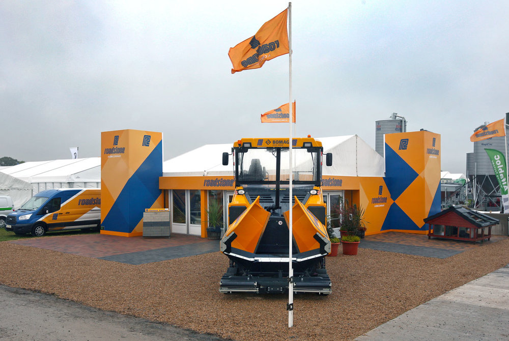 Roadstone unit at the national ploughing championships 2018
