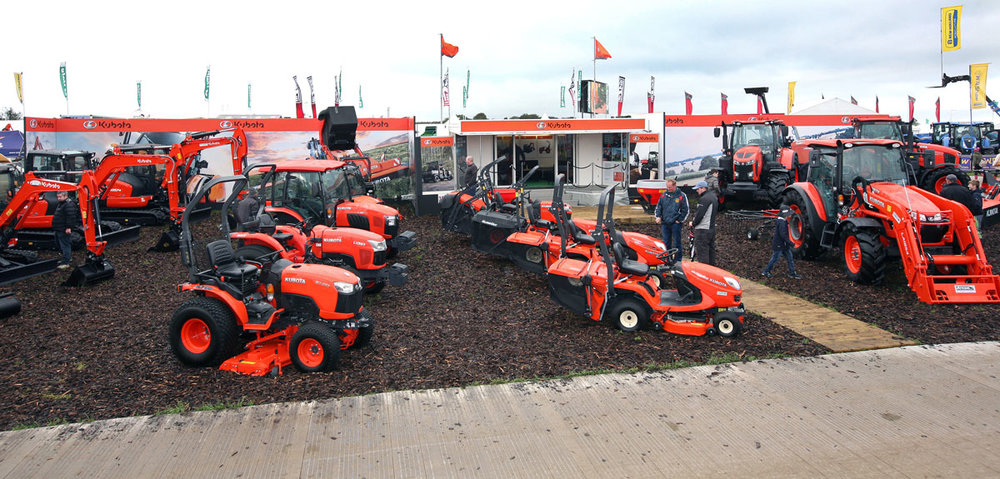 Kubota unit at the national ploughing championships 2018