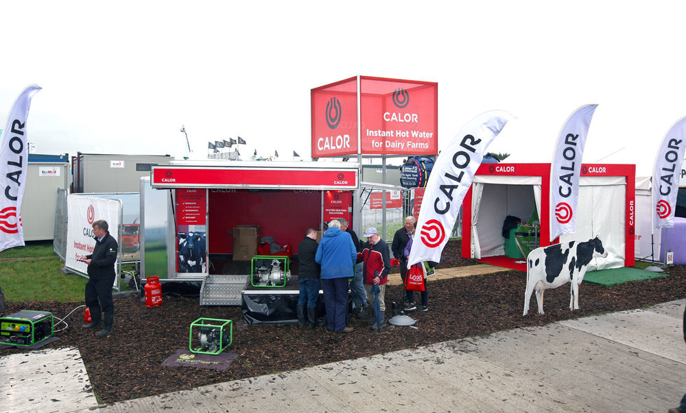 Calor unit at the national ploughing championships 2018