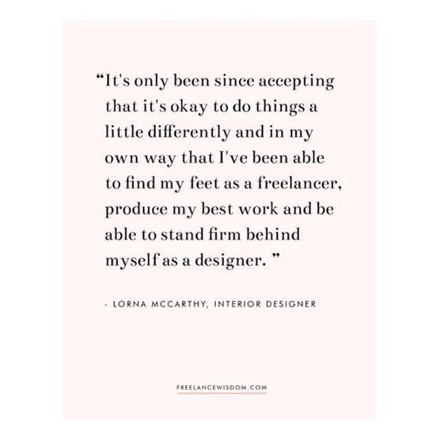 I was so fortunate to have the opportunity to chat with the lovely ladies at @freelancewisdom candidly about my journey to becoming @mccarthyandco and the ups and downs of working for yourself! ✨ Link's in the bio for those who want a nosy at my full interview 👀