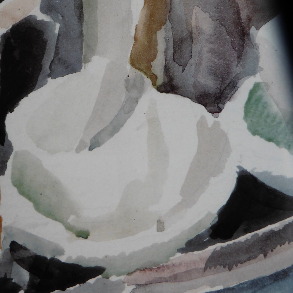 Vanessa Bell (detail of a watercolour painting)