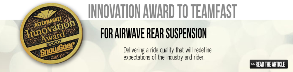 Airwave Rear Suspension Innovation Award Winner