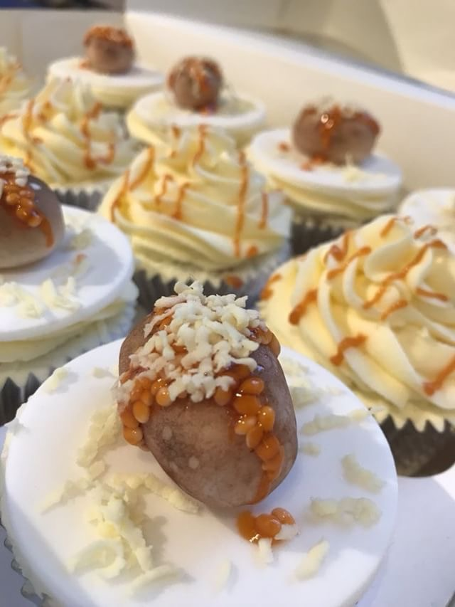 Jacket Potato Cupcake
