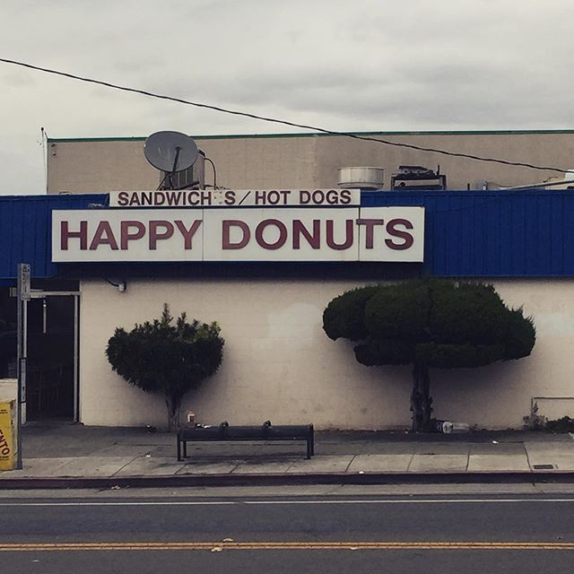 I was sad, sad, sad in Happy Donuts #dieselhead